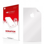 upscreen Scratch Shield Clear Premium Displayschutzfolie für Apple iPhone 6S Rückseite (Mittelfläche + LogoCut)