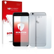 upscreen Scratch Shield Clear Premium Displayschutzfolie für Apple iPhone 6S (Vorder + Rückseite)