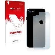 upscreen Scratch Shield Clear Premium Displayschutzfolie für Apple iPhone 7 Rückseite (gesamte Fläche + LogoCut)