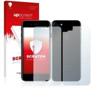 upscreen Scratch Shield Clear Premium Displayschutzfolie für Apple iPhone 7 (Vorder + Rückseite)