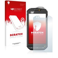 upscreen Scratch Shield Clear Premium Displayschutzfolie für Caterpillar Cat S60