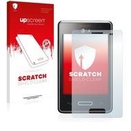 upscreen Scratch Shield Clear Premium Displayschutzfolie für LG Electronics E430 Optimus L3 II