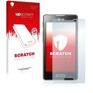 upscreen Scratch Shield Clear Premium Displayschutzfolie für LG Electronics E460 Optimus L5 II