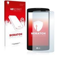 upscreen Scratch Shield Clear Premium Displayschutzfolie für LG L Fino D295