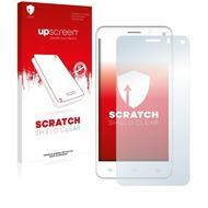 upscreen Scratch Shield Clear Premium Displayschutzfolie für Mobistel Cynus F6