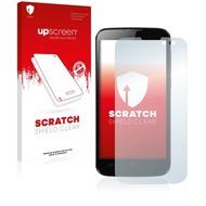 upscreen Scratch Shield Clear Premium Displayschutzfolie für Mobistel Cynus T6