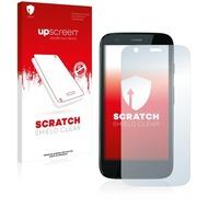 upscreen Scratch Shield Clear Premium Displayschutzfolie für Motorola Moto G