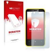 upscreen Scratch Shield Clear Premium Displayschutzfolie für Nokia Lumia 620