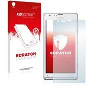 upscreen Scratch Shield Clear Premium Displayschutzfolie für Sony Xperia SP LTE C5306