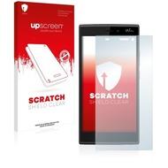 upscreen Scratch Shield Clear Premium Displayschutzfolie für Wiko Ridge 4G