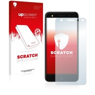 upscreen Scratch Shield Clear Premium Displayschutzfolie für ZTE Blade V7 Lite