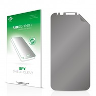 upscreen Spy Shield Clear Premium Blickschutzfolie für Alcatel One Touch Pop S7 (Smartphone)