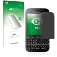 upscreen Spy Shield Clear Premium Blickschutzfolie für Blackberry Classic Q20