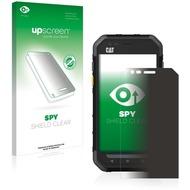 upscreen Spy Shield Clear Premium Blickschutzfolie für Caterpillar Cat S30