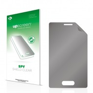 upscreen Spy Shield Clear Premium Blickschutzfolie für LG Electronics E430 Optimus L3 II