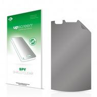 upscreen Spy Shield Clear Premium Blickschutzfolie für LG Electronics E900 Optimus 7