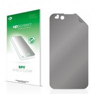 upscreen Spy Shield Clear Premium Blickschutzfolie für LG Electronics P970 Optimus Black