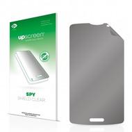 upscreen Spy Shield Clear Premium Blickschutzfolie für LG L80 D373 (One Sim)
