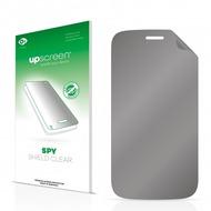 upscreen Spy Shield Clear Premium Blickschutzfolie für Mobistel Cynus F3