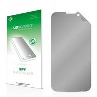 upscreen Spy Shield Clear Premium Blickschutzfolie für Mobistel Cynus T6