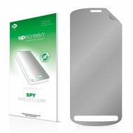 upscreen Spy Shield Clear Premium Blickschutzfolie für Nokia 808 PureView