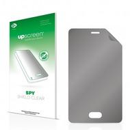 upscreen Spy Shield Clear Premium Blickschutzfolie für Nokia Asha 501