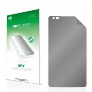 upscreen Spy Shield Clear Premium Blickschutzfolie für Nokia Lumia 910