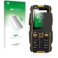 upscreen Spy Shield Clear Premium Blickschutzfolie für RugGear RG300