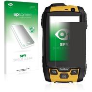 upscreen Spy Shield Clear Premium Blickschutzfolie für RugGear RG500