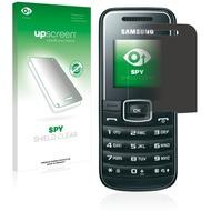 upscreen Spy Shield Clear Premium Blickschutzfolie für Samsung E1050