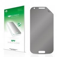 upscreen Spy Shield Clear Premium Blickschutzfolie für Samsung Galaxy Ace 4 SM-G357 (3G)
