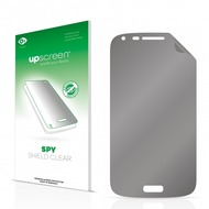upscreen Spy Shield Clear Premium Blickschutzfolie für Samsung Galaxy Core Duos I8262