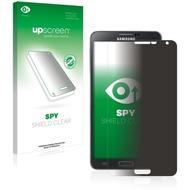 upscreen Spy Shield Clear Premium Blickschutzfolie für Samsung Galaxy Note 3