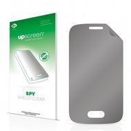 upscreen Spy Shield Clear Premium Blickschutzfolie für Samsung Galaxy Pocket 2