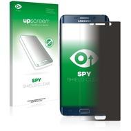 upscreen Spy Shield Clear Premium Blickschutzfolie für Samsung Galaxy S6 Edge Plus