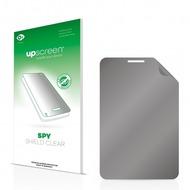 upscreen Spy Shield Clear Premium Blickschutzfolie für Samsung Galaxy Tab GT-P3100