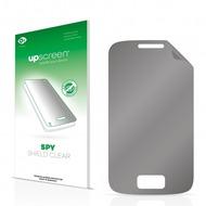 upscreen Spy Shield Clear Premium Blickschutzfolie für Samsung Galaxy Y Duos S6102