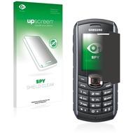 upscreen Spy Shield Clear Premium Blickschutzfolie für Samsung GT-B2710