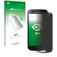 upscreen Spy Shield Clear Premium Blickschutzfolie für Samsung GT-I9195