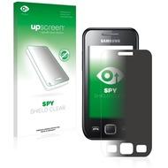upscreen Spy Shield Clear Premium Blickschutzfolie für Samsung GT-S5250