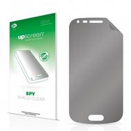 upscreen Spy Shield Clear Premium Blickschutzfolie für Samsung GT-S7580