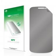 upscreen Spy Shield Clear Premium Blickschutzfolie für Samsung I9250