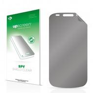 upscreen Spy Shield Clear Premium Blickschutzfolie für Samsung Nexus S I9023