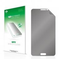 upscreen Spy Shield Clear Premium Blickschutzfolie für Samsung SM-N9005