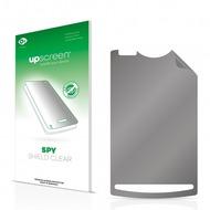 upscreen Spy Shield Clear Premium Blickschutzfolie für Sony Ericsson Xperia X10 Mini Pro