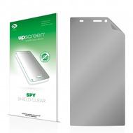 upscreen Spy Shield Clear Premium Blickschutzfolie für Wiko Ridge