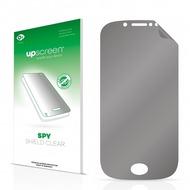 upscreen Spy Shield Clear Premium Blickschutzfolie für Wiko Sublim