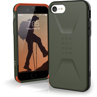 Urban Armor Gear Civilian Case, Apple iPhone SE (2020)/ 8/ 7/ 6S, olive drab, 11204D117272