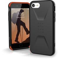 Urban Armor Gear Civilian Case, Apple iPhone SE (2020)/ 8/ 7/ 6S, schwarz, 11204D114040