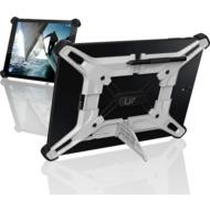 Urban Armor Gear EXOSKELETON 10, Universal Android Tablet Case, White/ Black